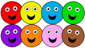 learn colors with smiley faces colouring pages for kids youtube