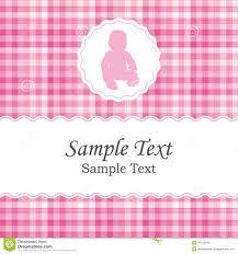 Birth Invitation Cards Birth Announcement Or Baby Shower Invitation Card For A Newborn