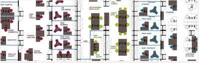 plan bureau de travail le space planning l organisation de vos espaces en entreprise