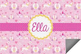 Pink Outdoor Rug Princess Carriage Indoor Outdoor Rug Personalized Youcustomizeit