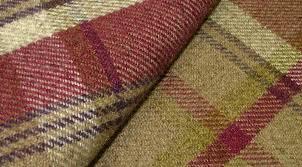 Tartan Drapes Curtains Elgin Heather Wool Effect Washable Thick Amazing Tartan