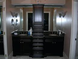 vanities 60 double sink vanity with makeup area double sink