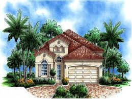 Spanish House Style Fascinating Spanish Mediterranean Style House Plans Contemporary