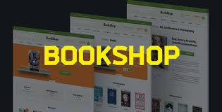 bookshop templates from themeforest