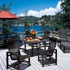 Brentwood Patio Furniture Lakeside Sling Tropitone