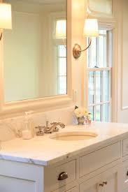 Shaker Style Bathroom Furniture by Jenny Steffens Hobick Our Master Bathroom White Ivory Marble