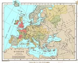 Language Map Of Europe by European History Maps