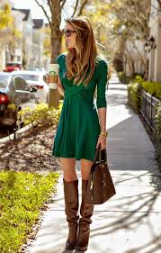 dresses with boots cross green dress from the mint julep boutique knee boot