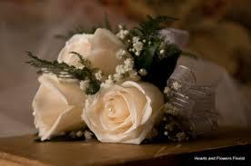 White Rose Wrist Corsage White Elegance White Rose Wrist Corsage In Coral Springs Fl