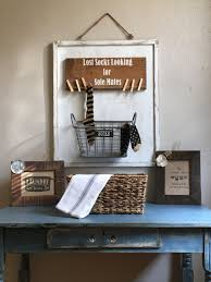 Rustic Laundry Room Decor by Room Decor Laundry Sign Lost Socks Sign Rustic Wall Decor Farm