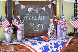 Vintage Americana Decor A Patriotic Vignette Worthing Court