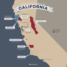 Santa Barbara California Map 8 Alternative Wine Trails Of California Wine Folly