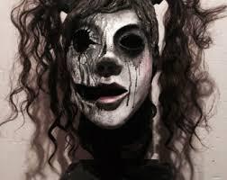 creepy mask creepy mask etsy