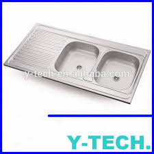 stainless steel indonesia deep double kitchen sink commercial