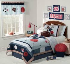 Sports Themed Duvet Covers Sports Bedroom Decorating Ideas Brown White Polka Dots Bedding