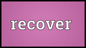 recover meaning youtube