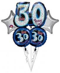 30th birthday balloon bouquets 30th birthday balloons birthday theme balloons balloons