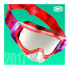 100 percent motocross goggles launching 2017 goggle collection racecraft accuri strata mx