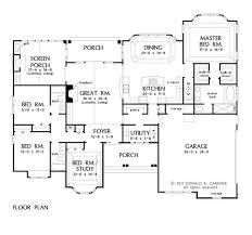 House Plans With Covered Porch 110 Best House Plans Images On Pinterest House Floor Plans