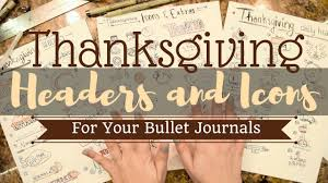 wiccan thanksgiving thanksgiving headers and icons bullet journal youtube