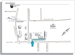 Penn State Map by Penn State Engineering Coe Training Services