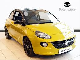 vauxhall yellow 2016 vauxhall adam hatchback special eds 1 2i energised 3dr