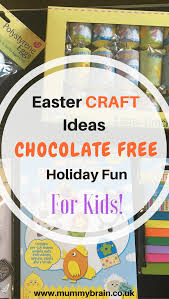 easter crafts ideas for kids chocolate free holiday fun