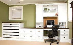 Built In Desk Ideas Custom Home Desk Office Built In Desks And Cabinets White