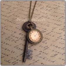 vintage key pendant necklace images What if i fall quote necklace quote from pennywhistlejewels jpg
