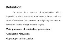 percussion and auscultation by dr vidhu mittal junior resident