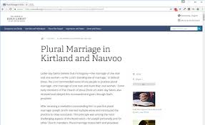 Letter Of Intent For Marriage by Mormon Universalism Plural Marriage In Kirtland And Nauvoo