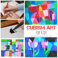 picasso inspired cubism art for kids spring arts u0026 crafts ideas