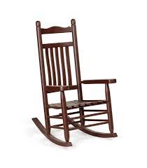 Outdoor Patio Rocking Chairs Ash Wood Lumbar Porch Rocking Chair