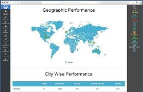 Geographics Business Cards Templates Adwords Geographic Reports Reportgraden