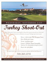 the links in los angeles invites you to play in the 2012 turkey