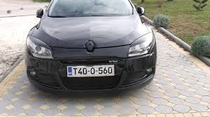 renault megane 3 coupe gt line tuning black youtube