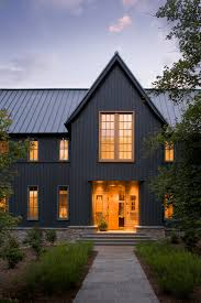 Home Exterior Design Stone 20 Dramatic Home Exteriors Proving Black Is The New Black