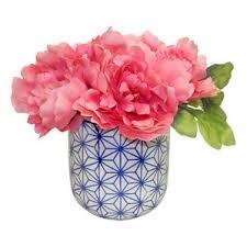 Red Flowers In A Vase Faux Flowers Joss U0026 Main