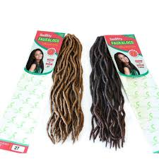 the best hair to use when crocheting crochet faux locs hair body wave wholesale for african women