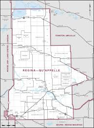 Map Of Saskatchewan Regina U2013qu U0027appelle Maps Corner Elections Canada Online