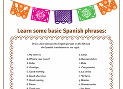 2nd grade spanish foreign language worksheets u0026 free printables