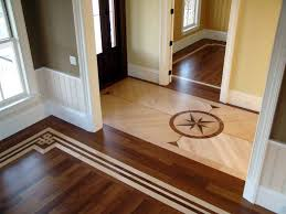 custom wood floor inlays borders medallions staten island