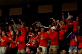 spike squad surprises fans at illinois volleyball game the