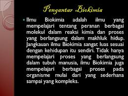 biokimia adalah d l b universitas samawa ppt download