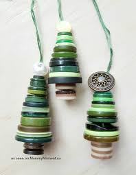 button tree ornaments moment