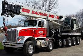 Bauman Crane Rental Pennsylvania Delaware New Jersey Maryland