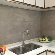 large tile kitchen backsplash grey effect large format porcelain tiles used for a