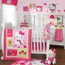 Safari Nursery Bedding Sets by Hello Kitty Crib Bedding Hello Kitty Garden 5pc Baby Crib