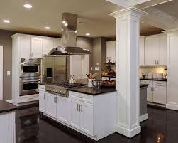 kitchen island with columns kitchens with columns smartness ideas 10 kitchen island design gnscl