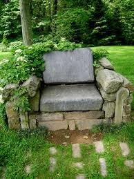 Chair In Garden Chanticleer Part 2 Garden Seating Carolyn U0027s Shade Gardens